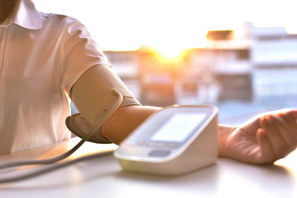 vysoký krvný tlak
