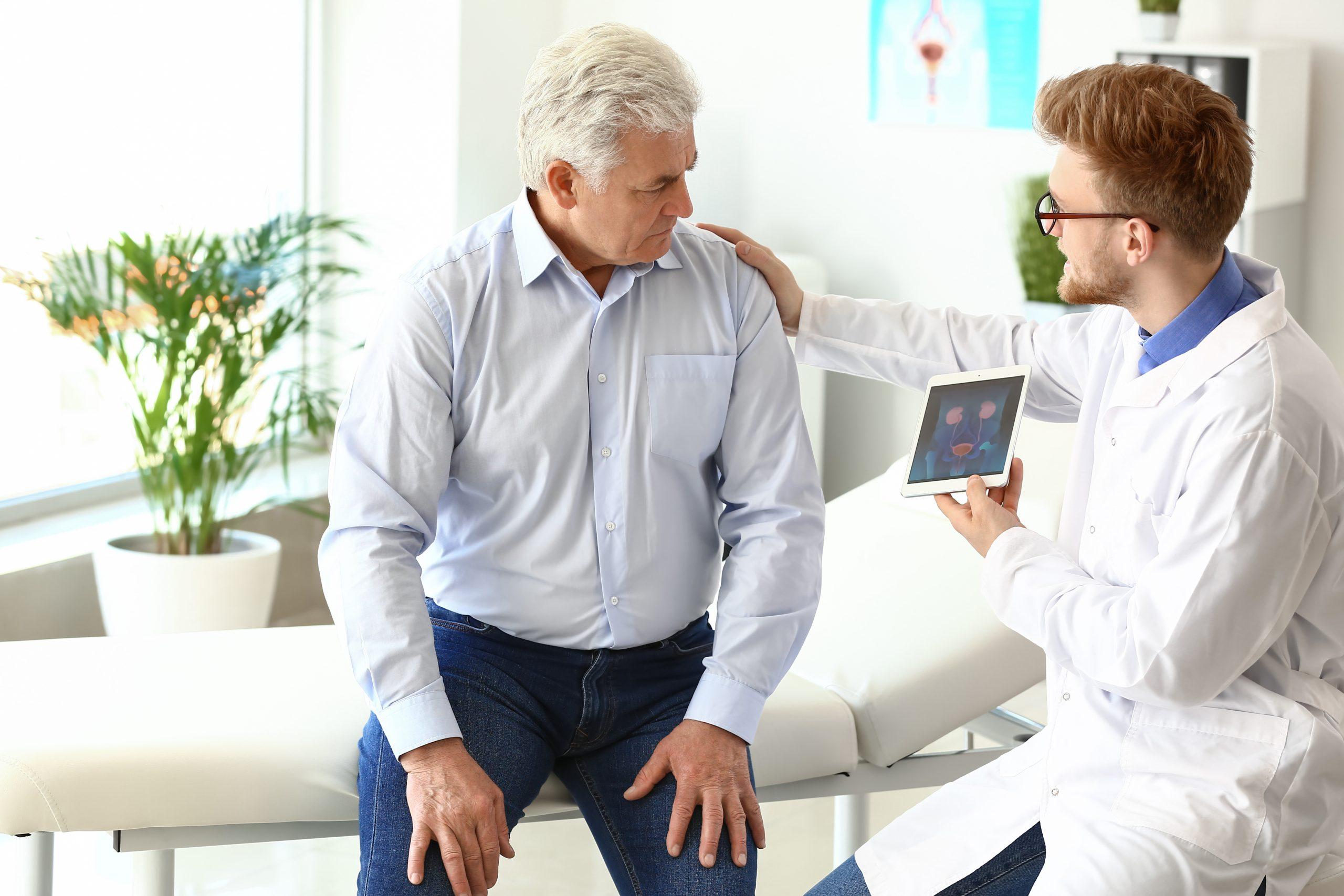 vyšetrenie prostaty