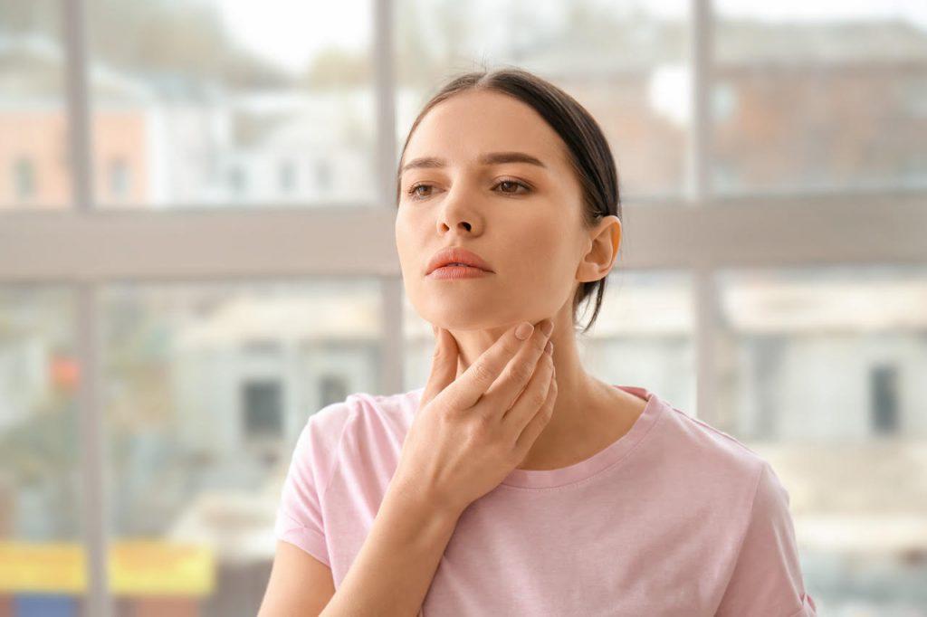ochorenie štítnej žľazy príznaky